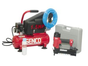 SENCO - KIT DE ENGRAPADORA NS1840L + COMPRESOR DE 1.5HP